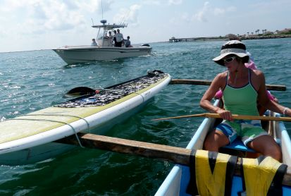 outrigger and sup portage