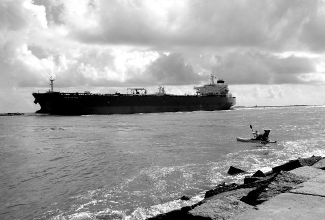 Ship channel crossing