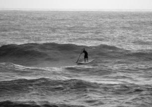stand up paddle, port aransas winter surf