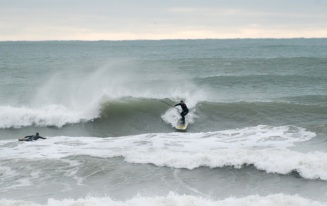 Big Wave Dave Parsons, stand up