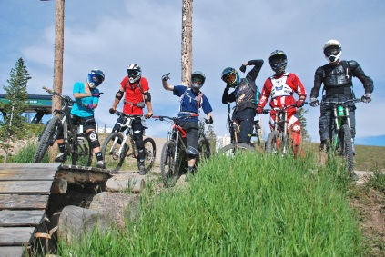 Gang of 6, Trestle DH trail top