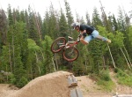 slopeside tricks, training day