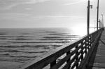 Daybreak at pier