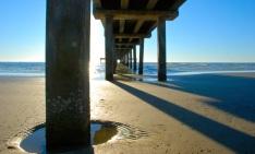 pier morning, port a