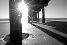 pier sunrise, port a