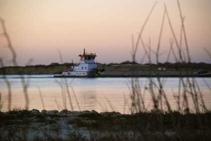 ship channel barge