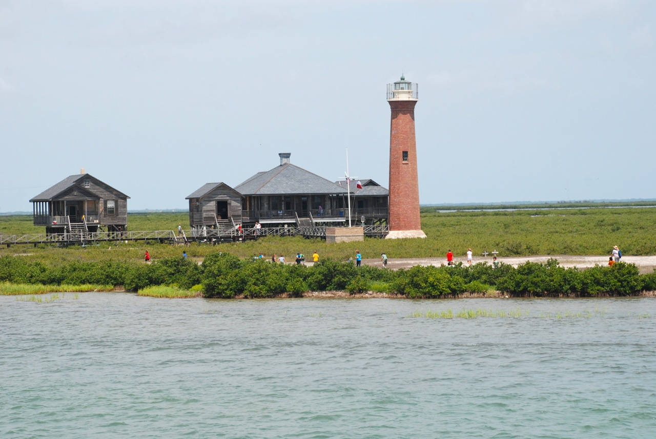 Lydia ann lighthouse marinedreams island adventures for Port a texas