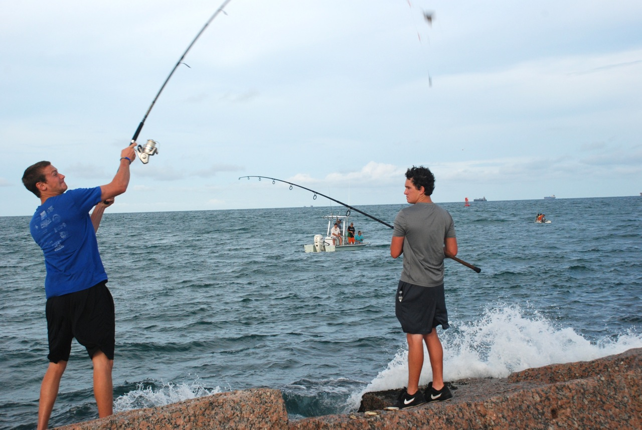 Image gallery jetty fishing for Port aransas jetty fishing report