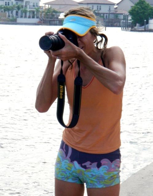 jen with camera